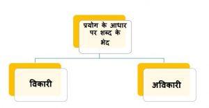 Prayog ke Aadhar par shabd ke bhed