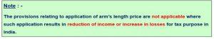 Arm's length price